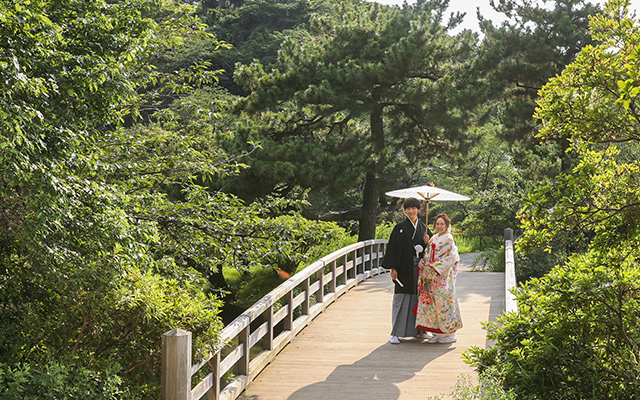 三渓園 結婚写真